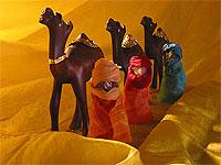 Die drei Könie aus dem Kindertheater Der Weg der Wunder