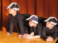 Drei Dachse aus dem Kindertheater Eine Kiste fuer den Baeren