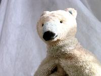 Figurentheater: Eisbaer Ika aus dem Kindertheater Auch Eisbaeren koennen frieren