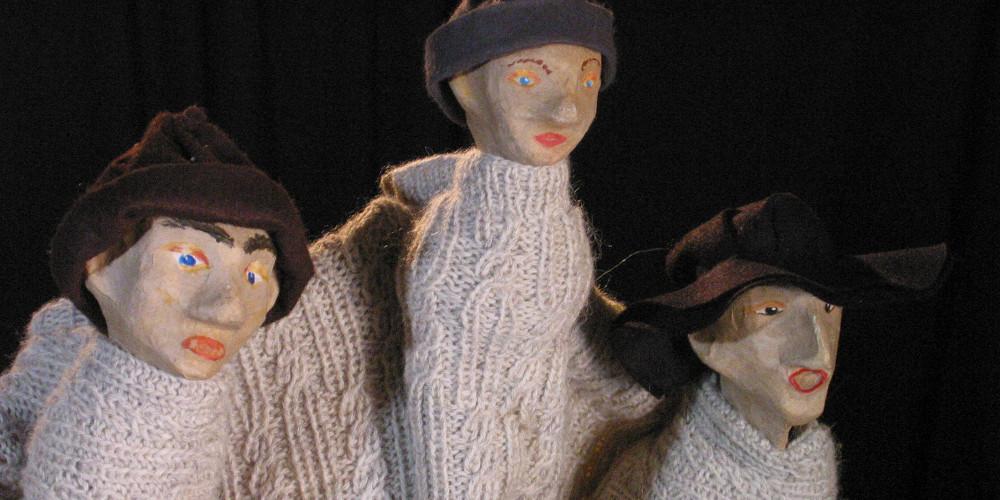"""Die drei Hirten aus Theaterstück zu Weihnachten """"Der Weg der Wunder"""""""
