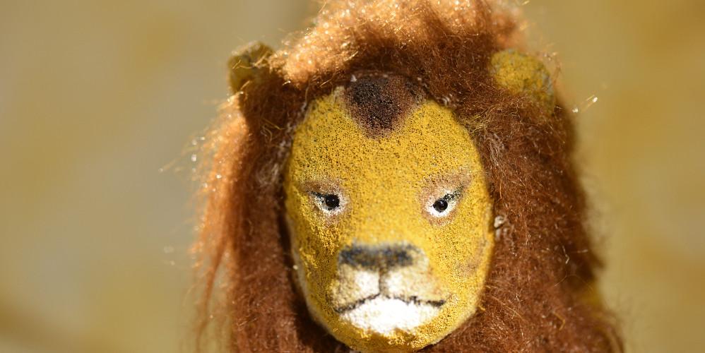 Kopf des Löwen