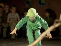 Theaterprojekte mit Kindern: Springender Frosch im Kindertheater