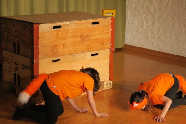 Theater aus dem Bilderbuch: Füchse