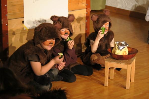 Theater aus dem Bilderbuch: Drei Bären
