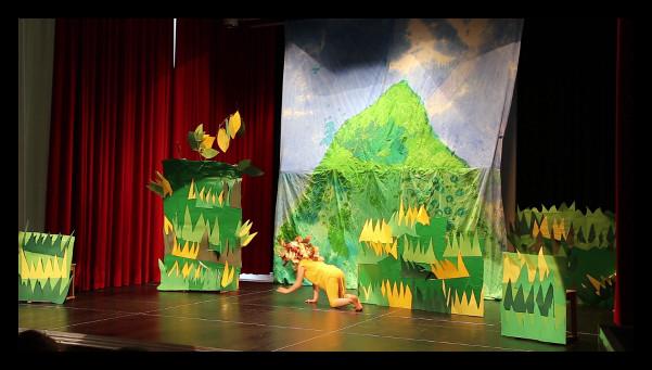 Theater aus dem Bilderbuch: Löwe