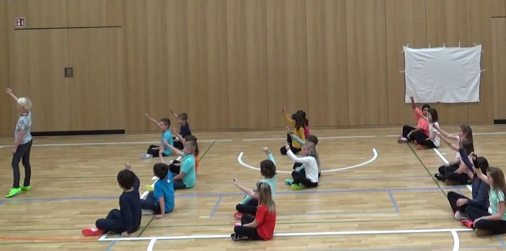 Theater in der Klasse: hier Tanztheater